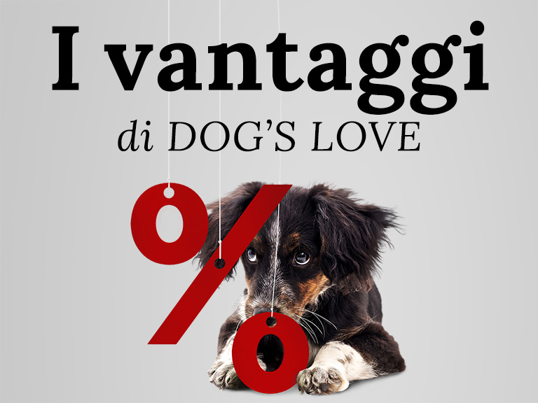 I vantaggi di DOG'S LOVE
